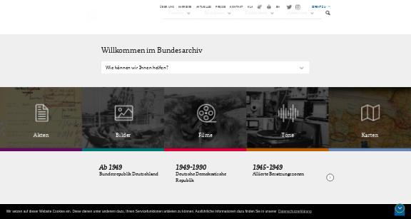 http://www.bundesarchiv.de/