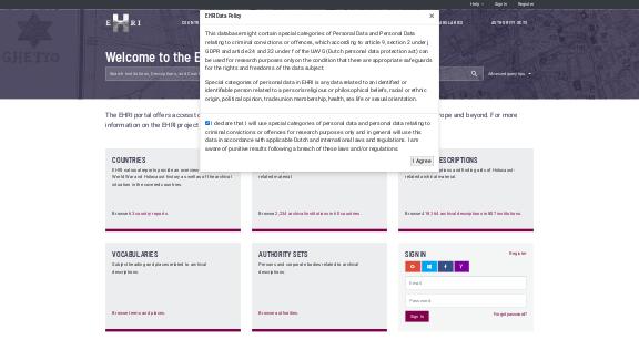 https://portal.ehri-project.eu/